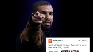 Whataburger Tweets in Support of Drake