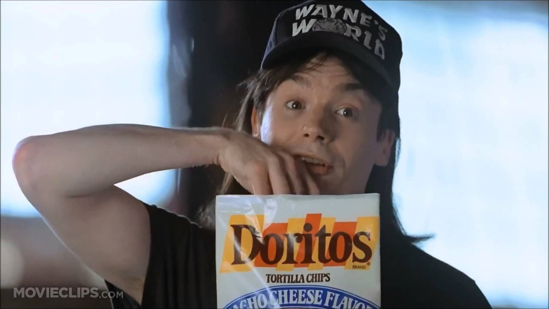 Dorito's Product Placement in Wayne's World