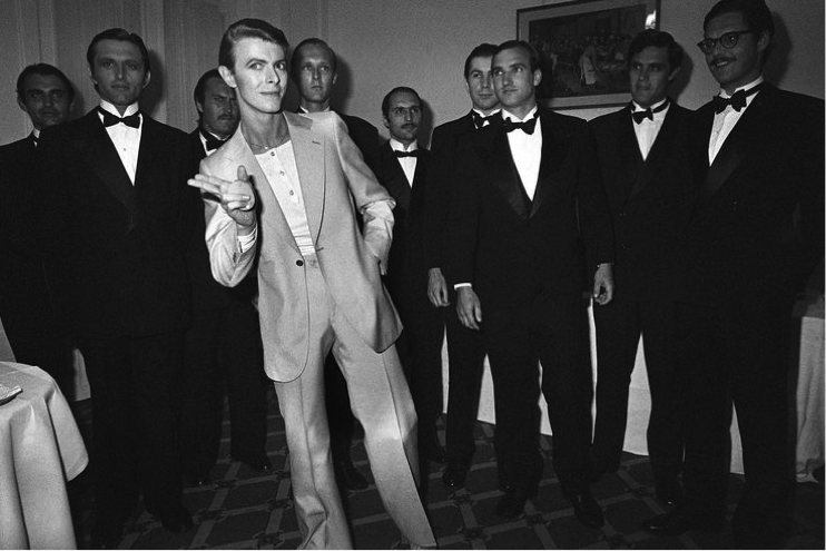 Black and White Bowie