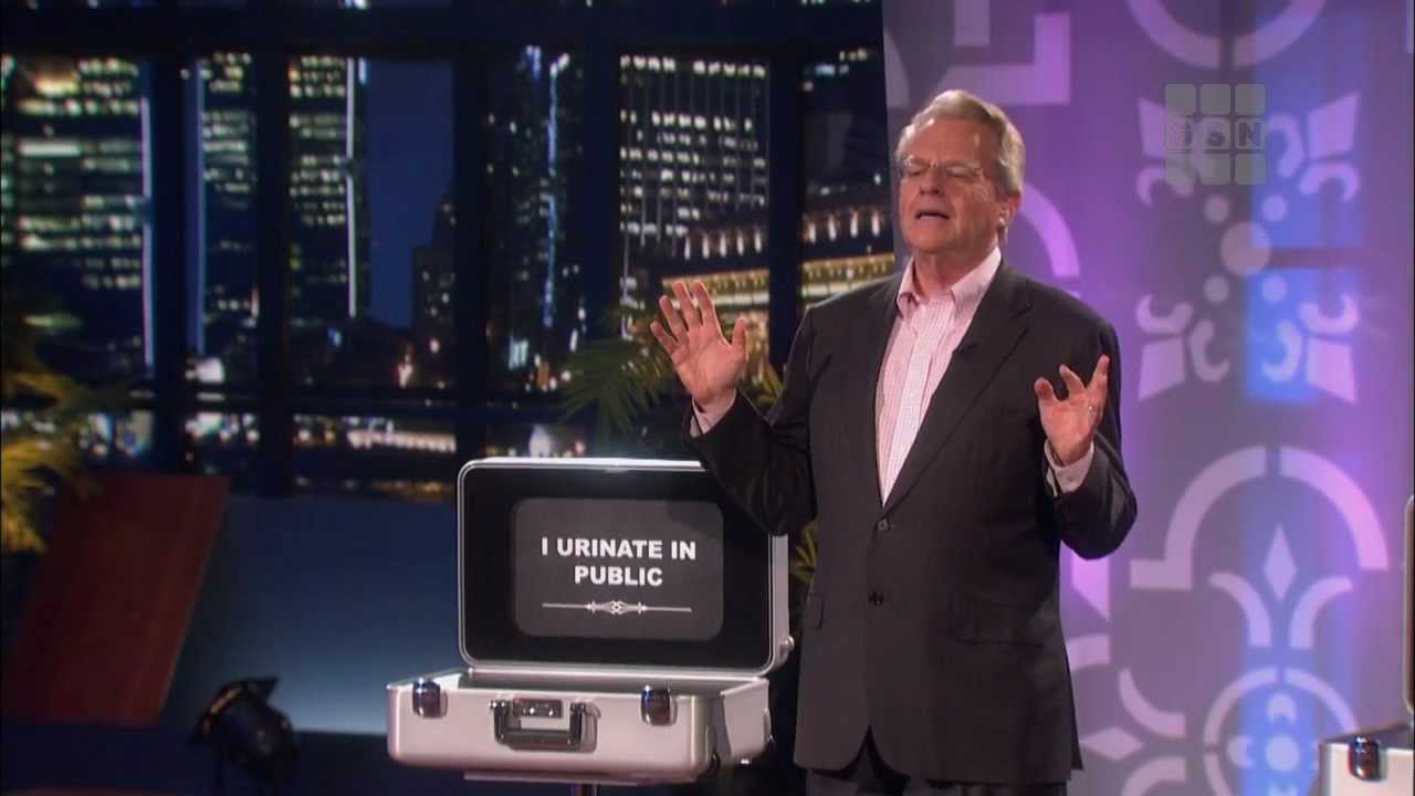 "Why Now More Than Ever, the World Needs Jerry Springer's ""Baggage"""