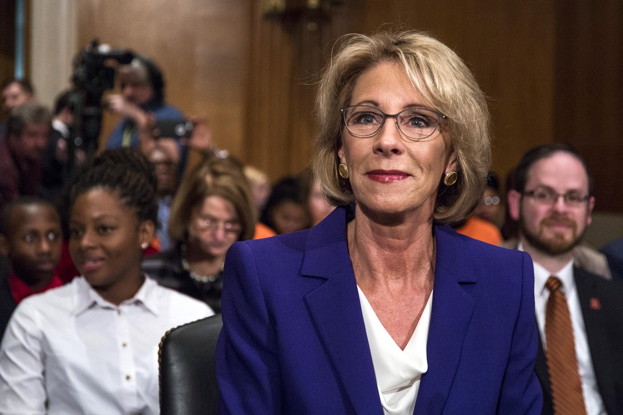Why the Disabled Community Can't Trust Betsy DeVos