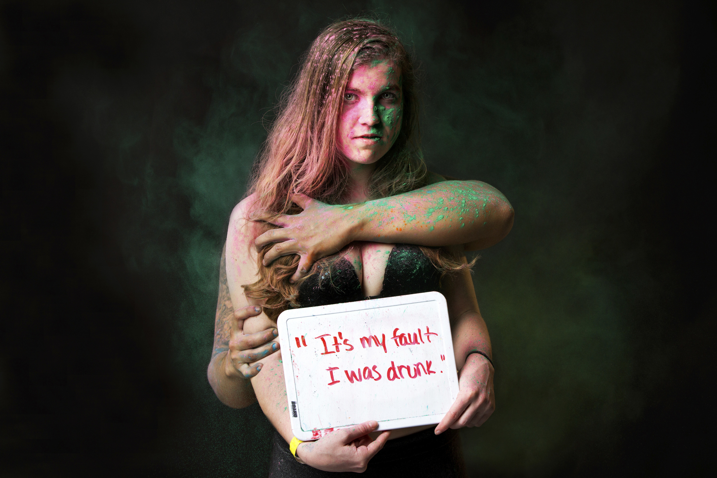 Photographer Yana Mazurkevich Gives a Voice to Rape Victims