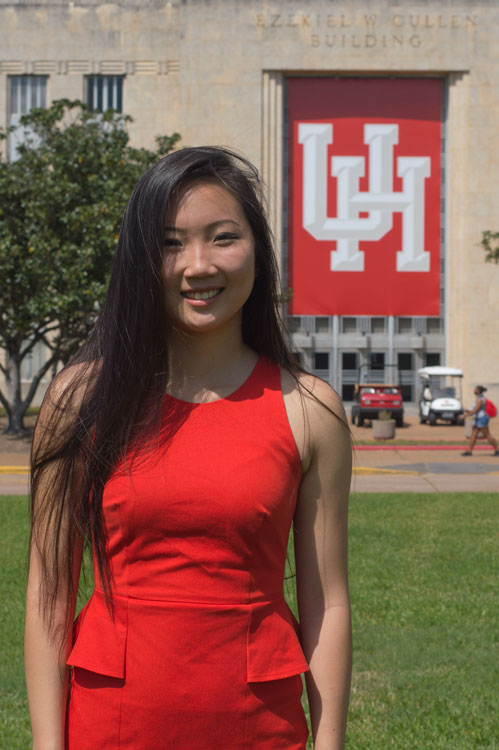 Winni Zhang, UH's New Student Body President, Takes the Study Breaks Survey