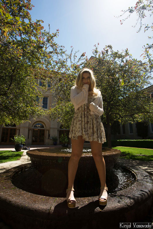 Taylor Grey on Stanford campus (Photography by Kinjal Vasavada, Stanford)