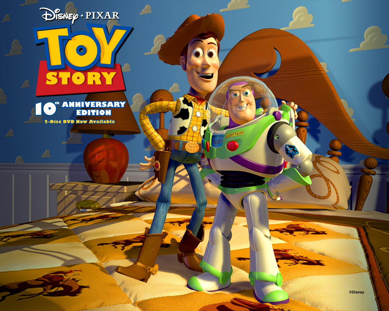 toy story 10th anniversary