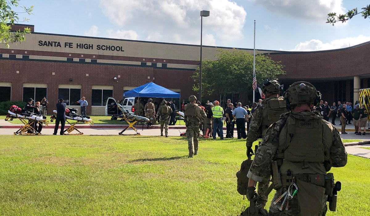 The Santa Fe Shooting Finds Texas Grappling with a Mass-Murder Crisis