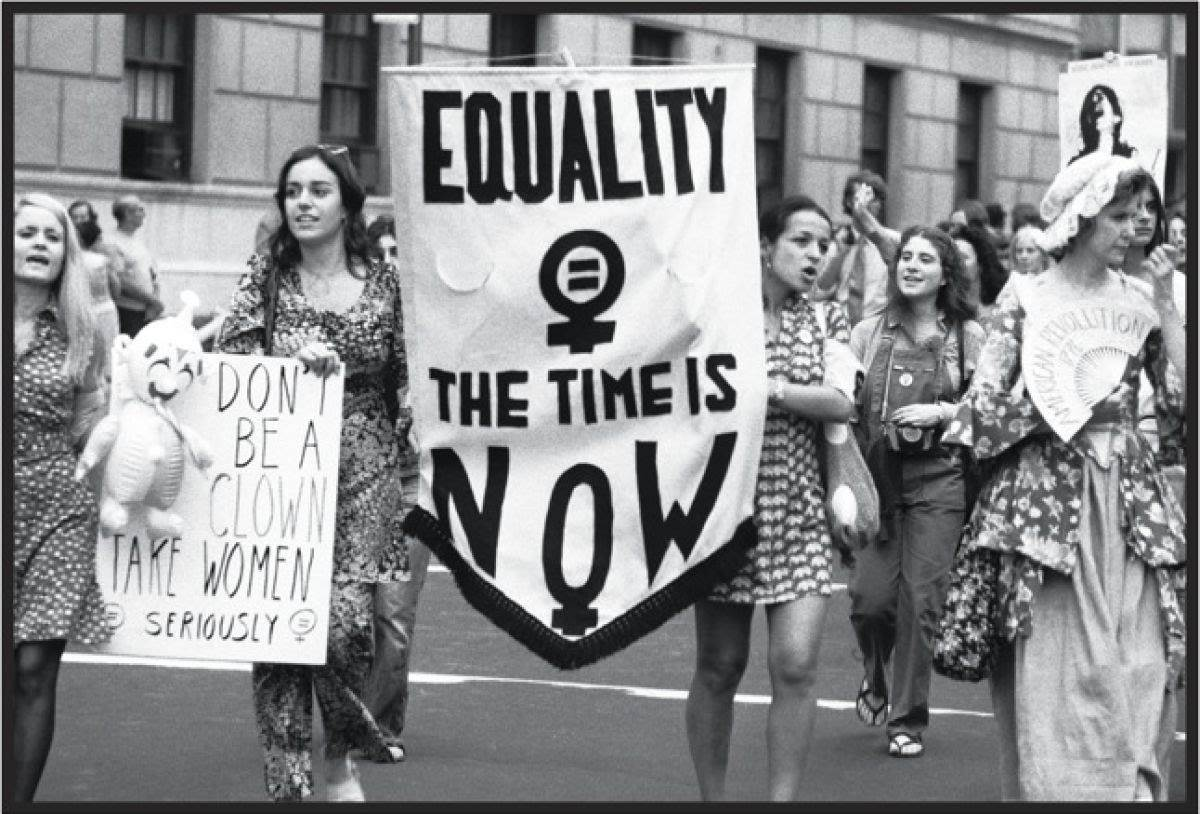 Feminism second wave protest