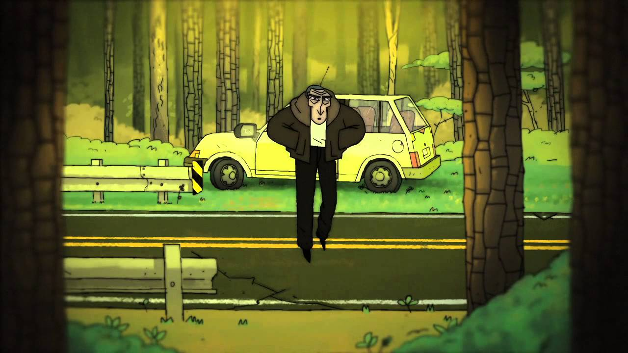 Short Film There's a Man in the Woods