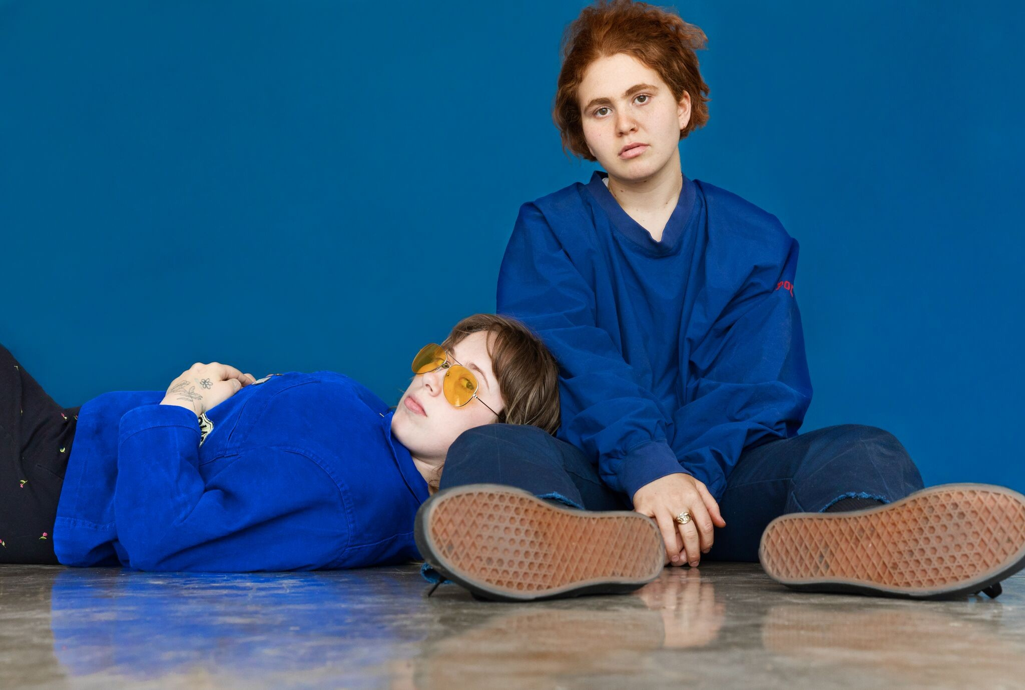 Girlpool's music has become more complex and mature this past year. (Image via LA Weekly)