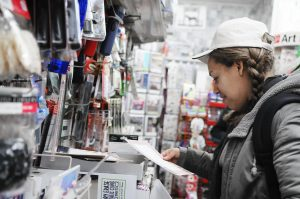 Customers don't have to wait in long lines and frozen temperatures anymore. (Image via The Daily Gazette)