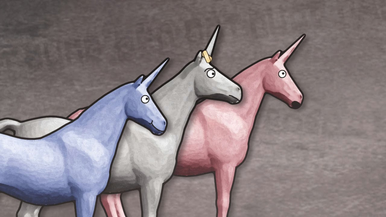 """Charlie the Unicorn"" became a cult classic for middle school '90s kids. (Image via YouTube)"