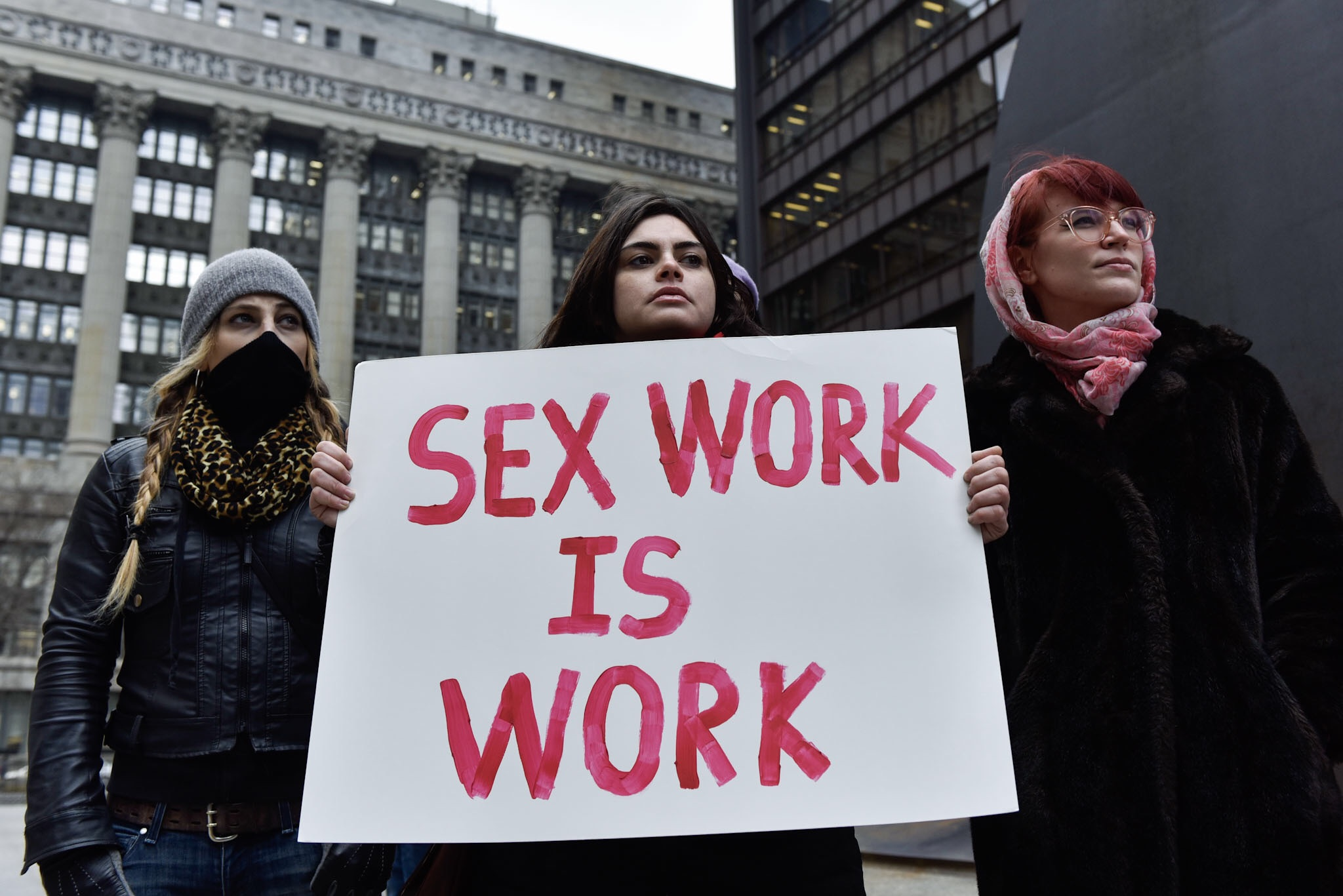 "Users of #ThotAudit have been reporting sex workers to the IRS, claiming that sex work ""isn't real work."" (Image via The Clover Chronicle.)"