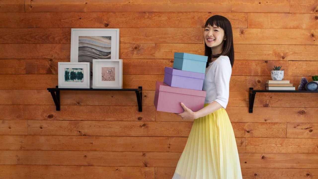 Kondo's show has definitely inspired others to tidy up, especially when it comes to folding clothes. (Image via ABC Action News)