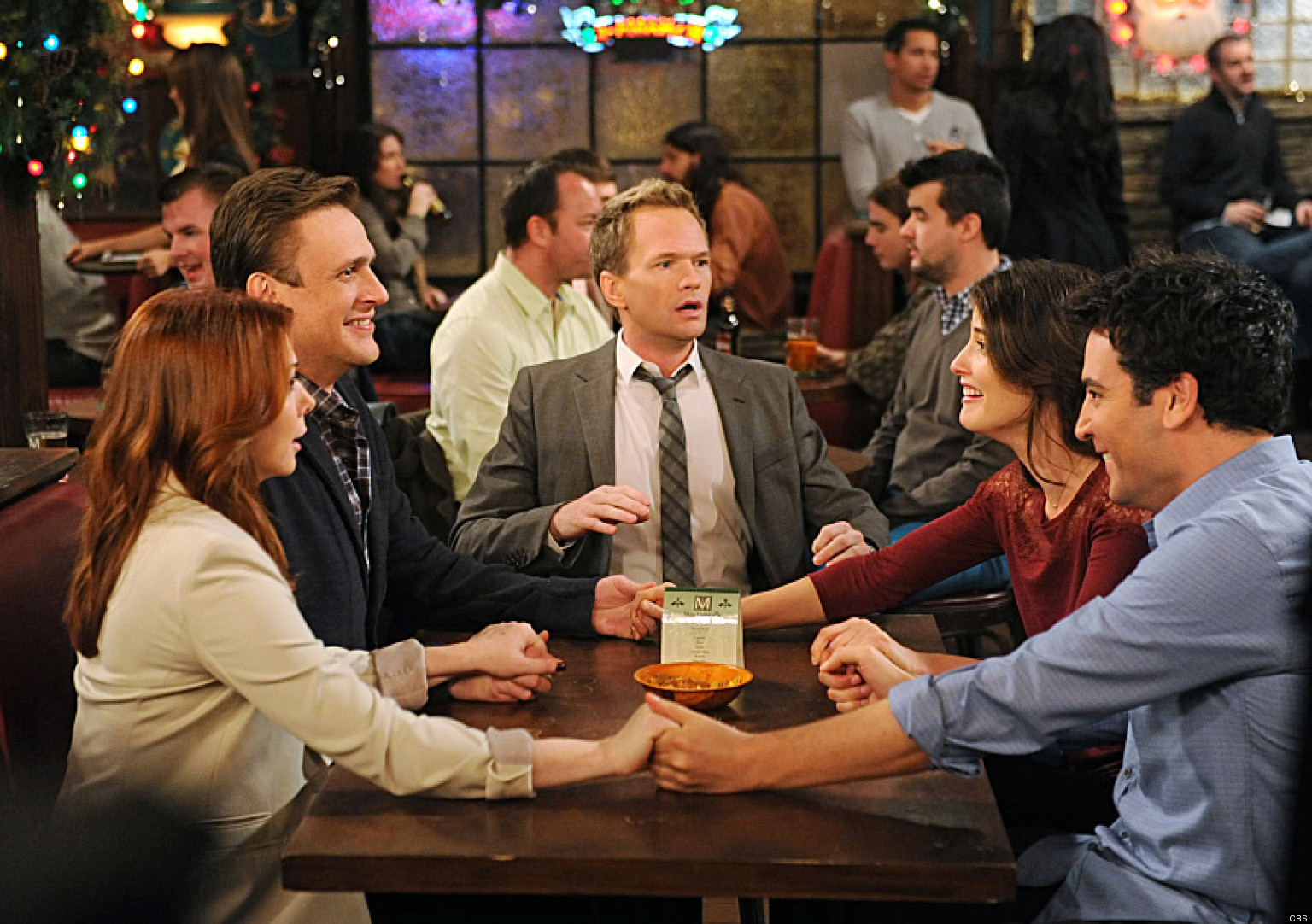 "While the show itself is genius, these five episodes exceeded all expectations I had for 'HIMYM."" (Image via Spotlight)"