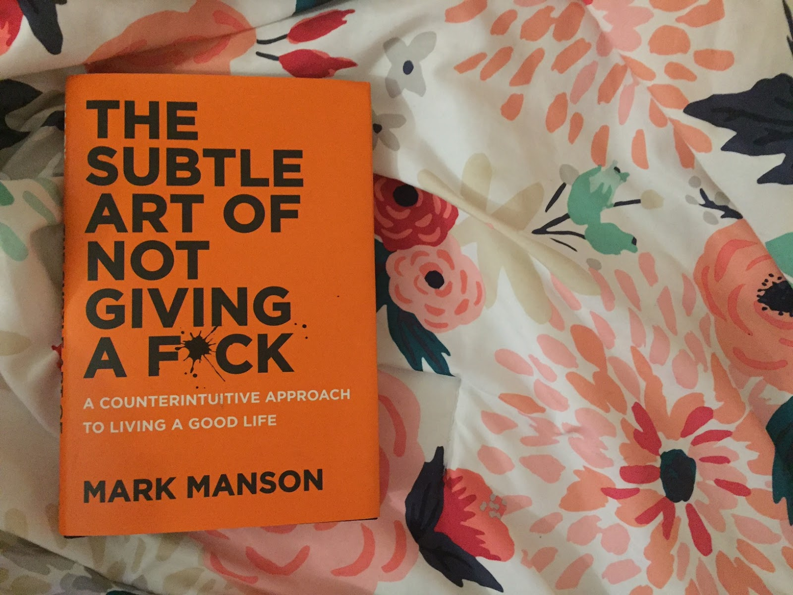 "It's critical to read ""The Subtle Art of Not Giving a F*ck"" before Mark Manson's second book releases. (Image via Anxiety Erica)"