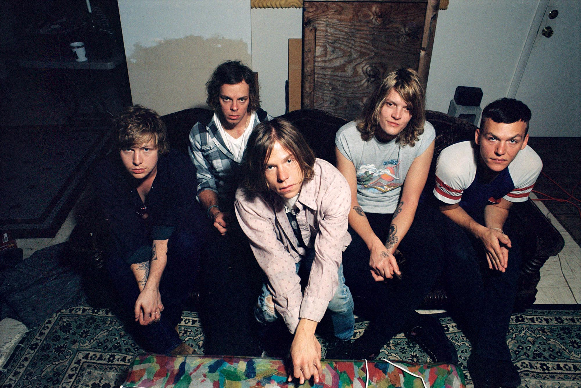 Cage the Elephant continues to confront prevalent societal issues in their latest album, 'Social Cues.' (Image via BC Heights)