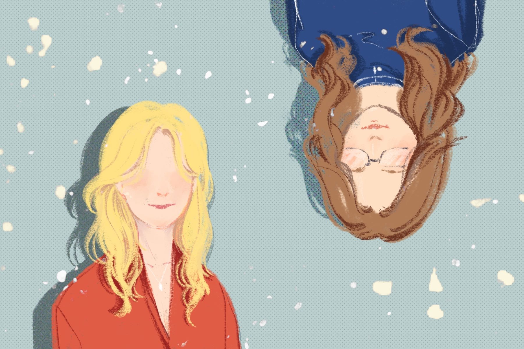 Office Ladies illustration by Alice Yuan for article by Megan Thompson