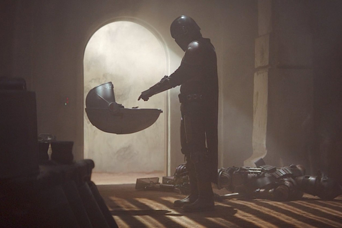 image from The Mandalorian tv show on Disney Plus