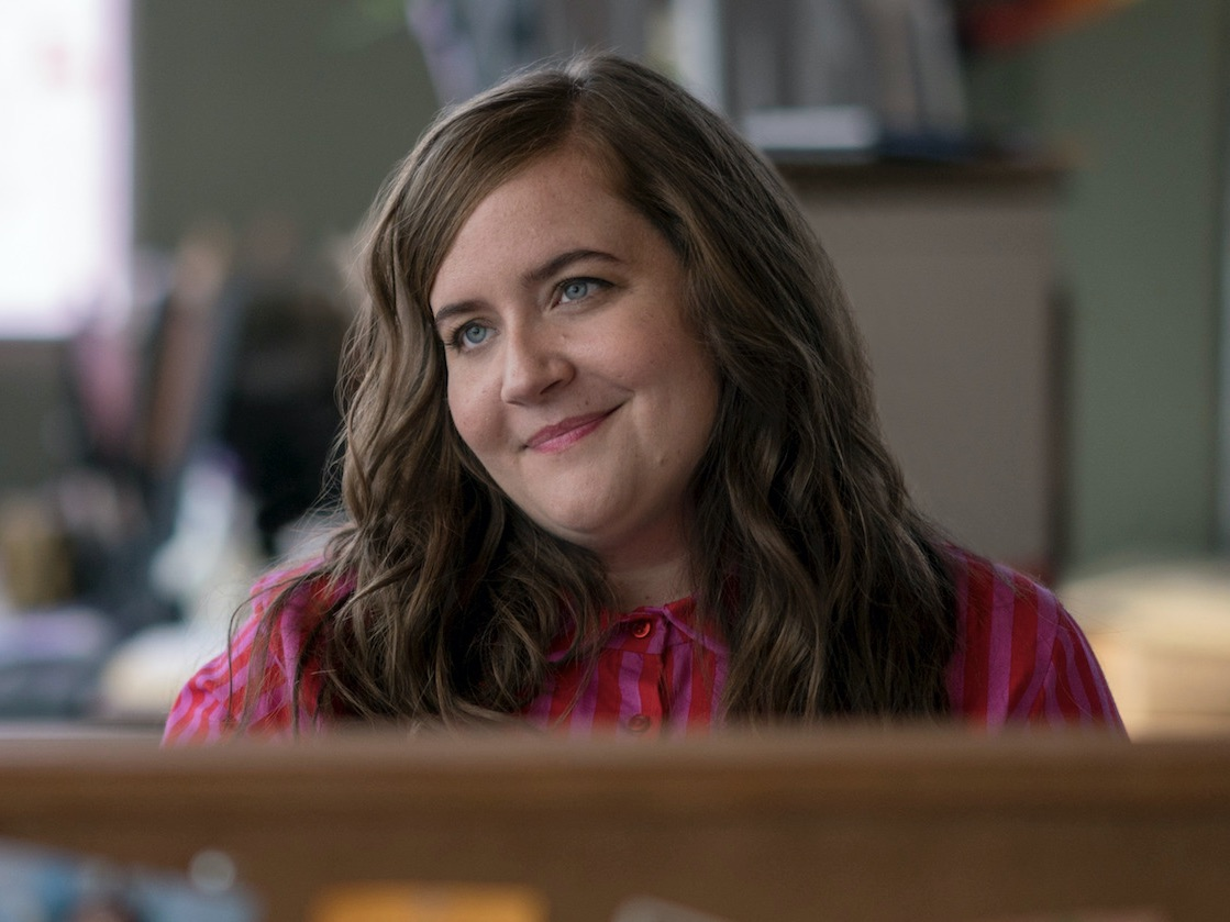 "Aidy Bryant as Annie in ""Shrill"""