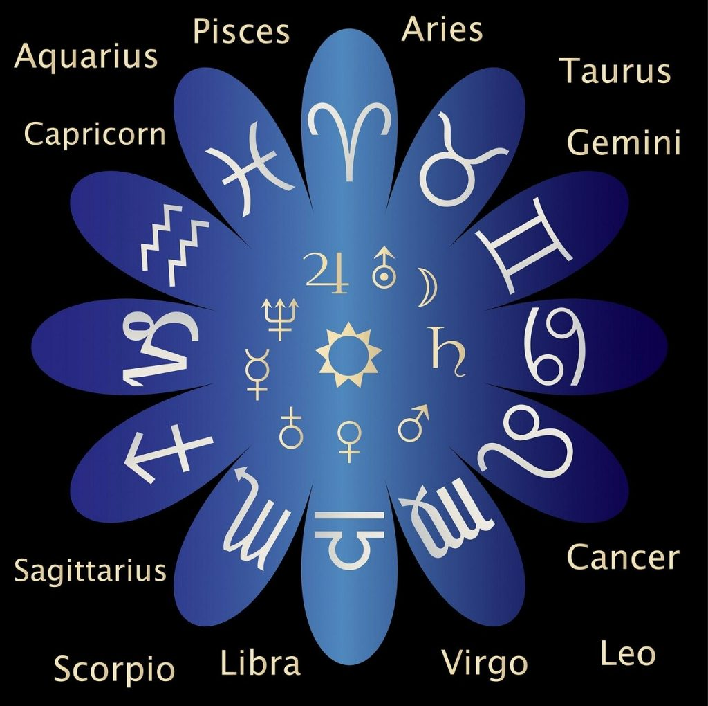 astrology chart from Pixabay