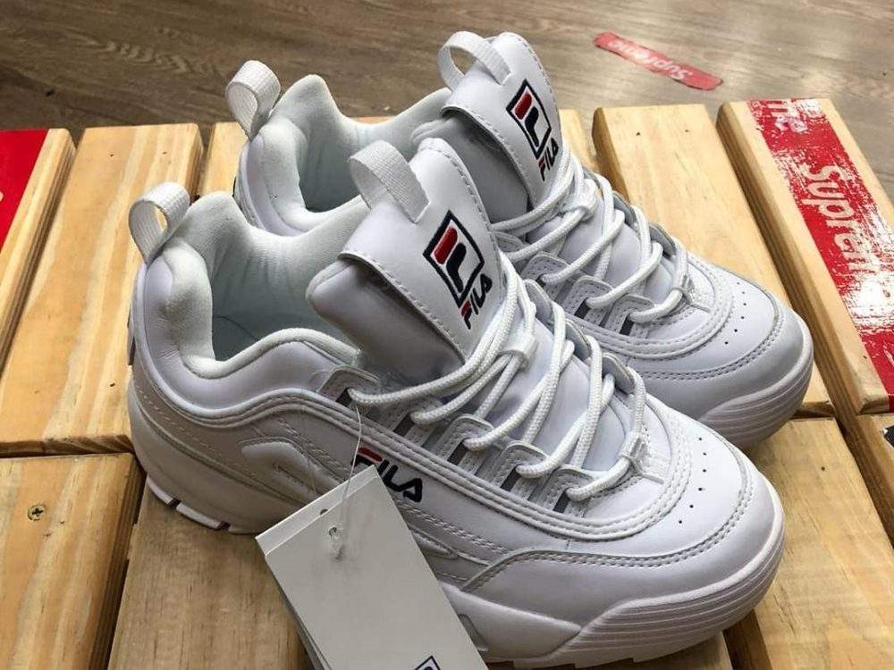 Fila Disruptors in an article about ugly shoes