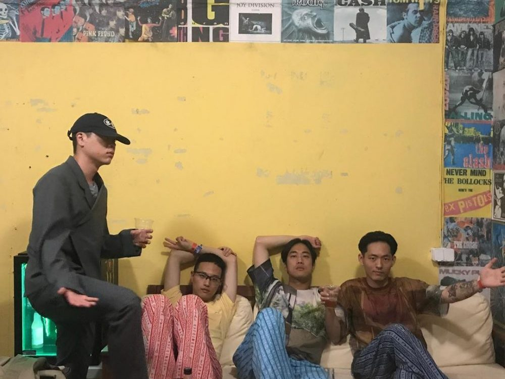 Photo of band Hyukoh in article about Korean music