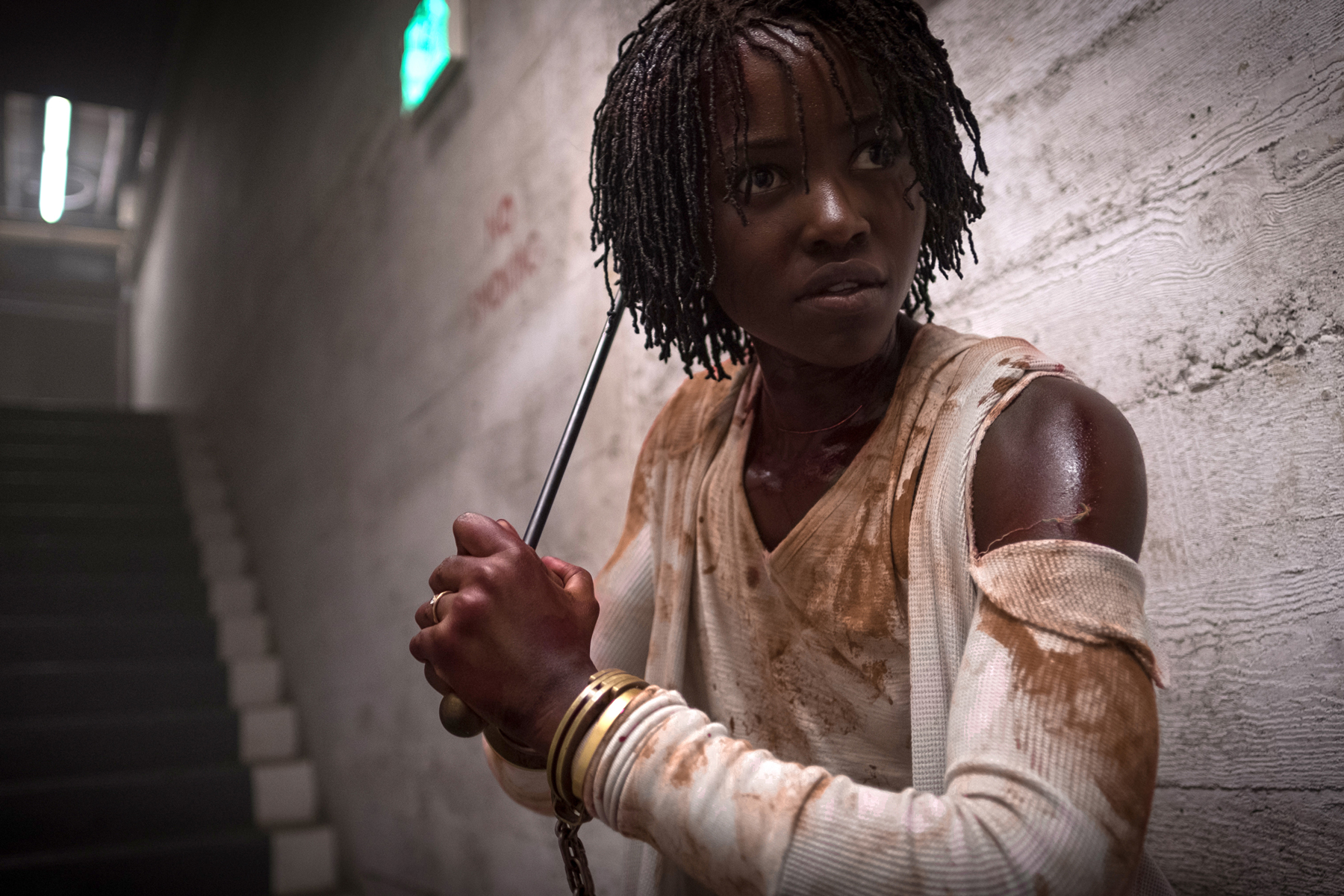 Lupita Nyong'o from the movie Us, one of many overlooked films in 2019