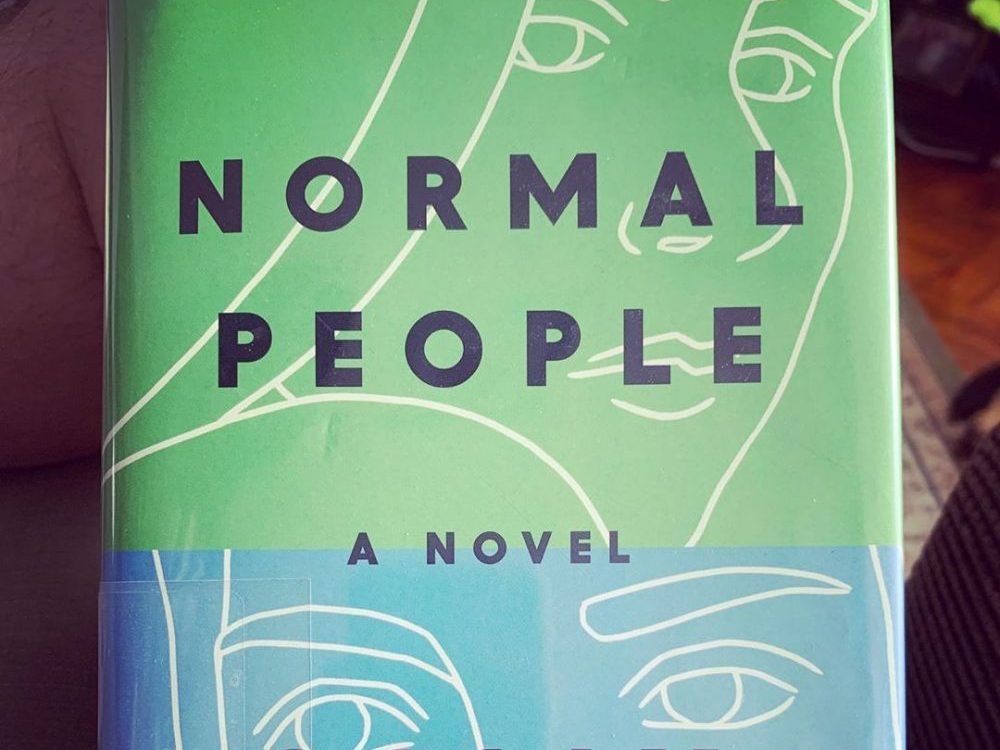 A copy of the book Normal People by Sally Rooney