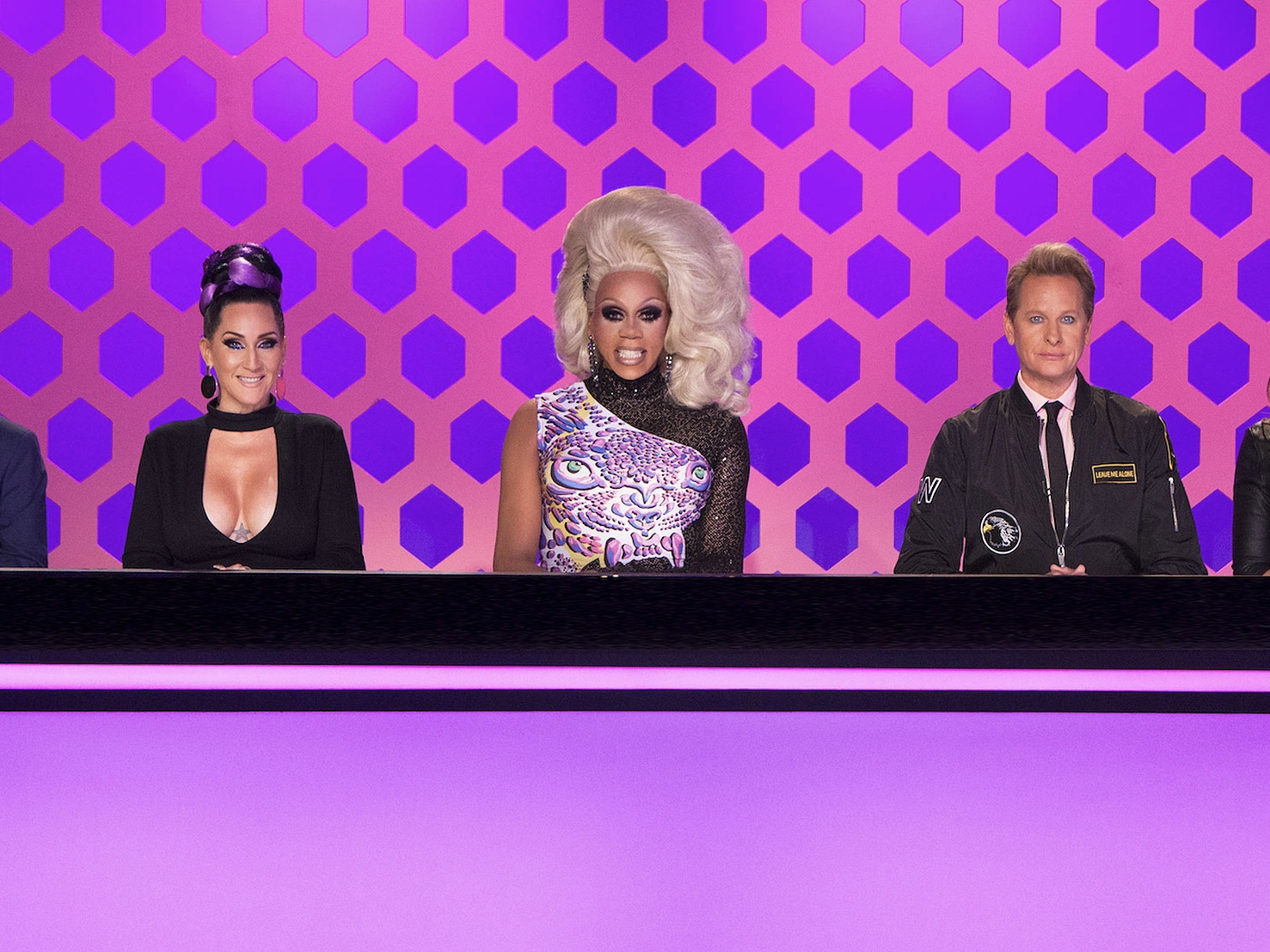 RuPaul in drag on 'RuPaul's Drag Race.'