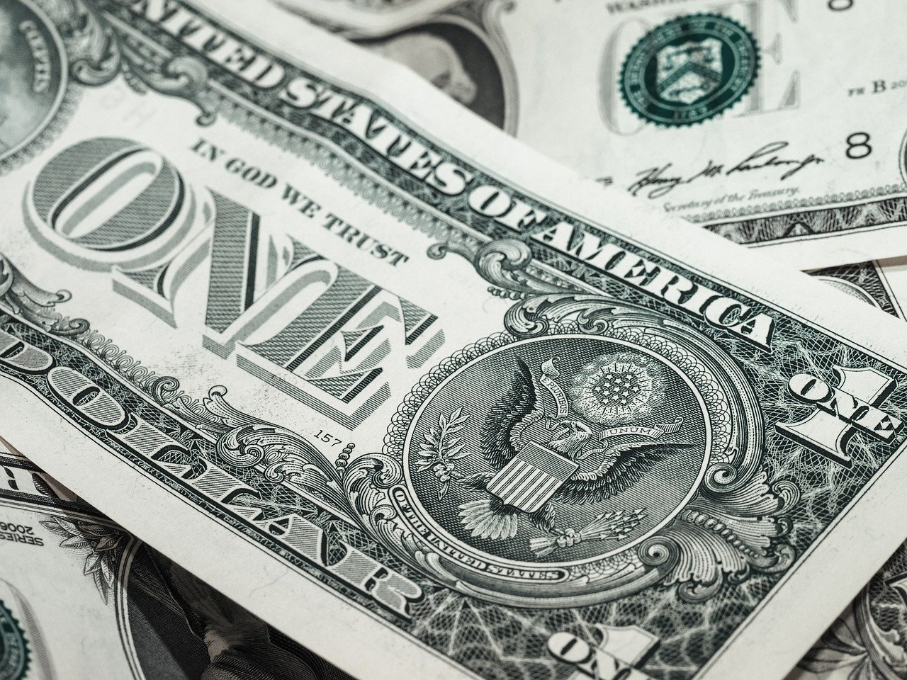 Photo of dollar bills in article about money