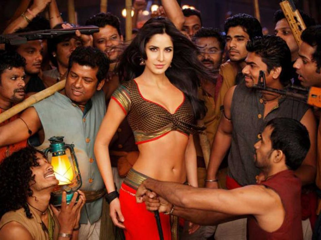 Female in Bollywood Item Song
