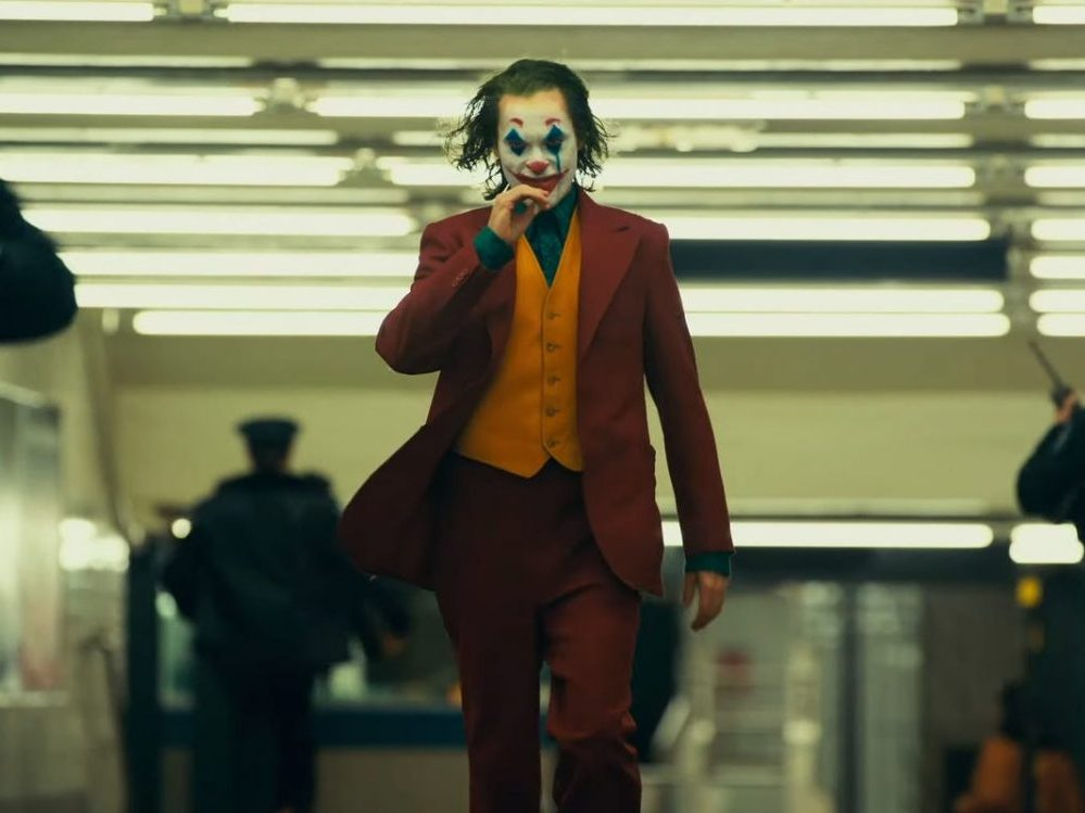 A scene from the 2019 film Joker, one of several films dealing with class warfare