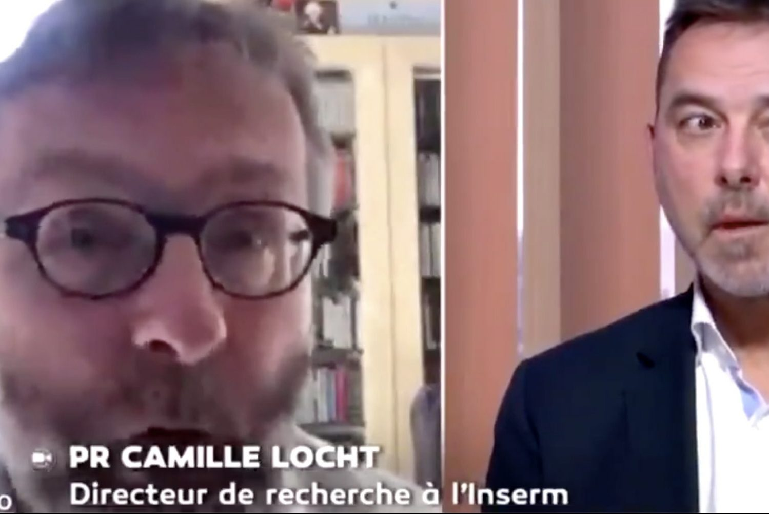 An interview with Dr. Camille Locht in which he suggested using Africans as lab rats to test for COVID-19 vaccines.