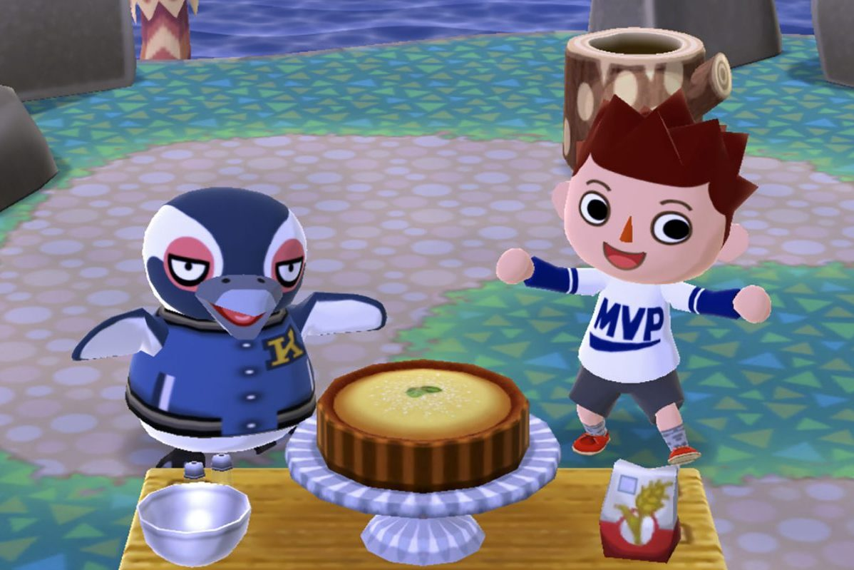 Screenshot from Animal Crossing in article about games with no specific goals