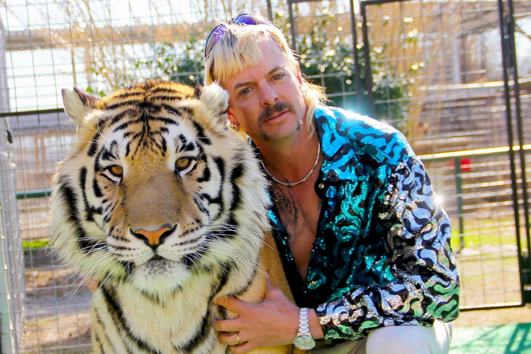 Screenshot of Joe Exotic from Netflix's Tiger King