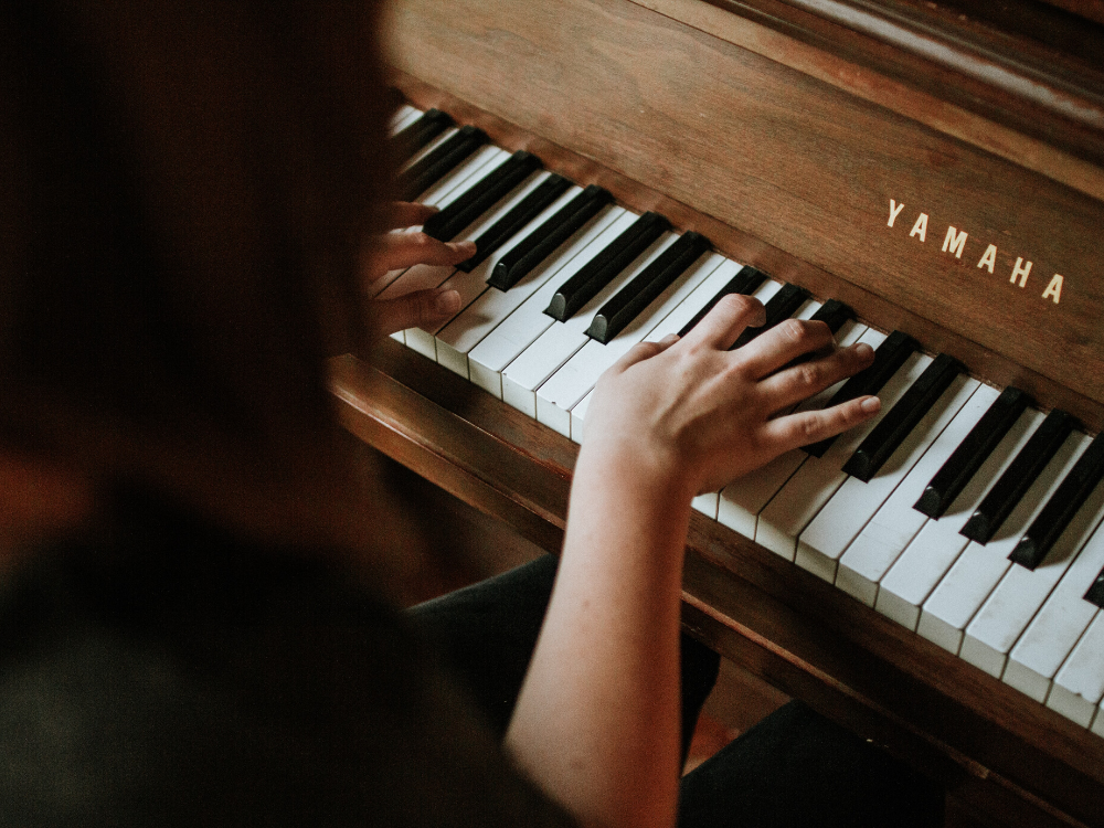 Learning the piano or other instruments can be beneficial to those with disabilities.