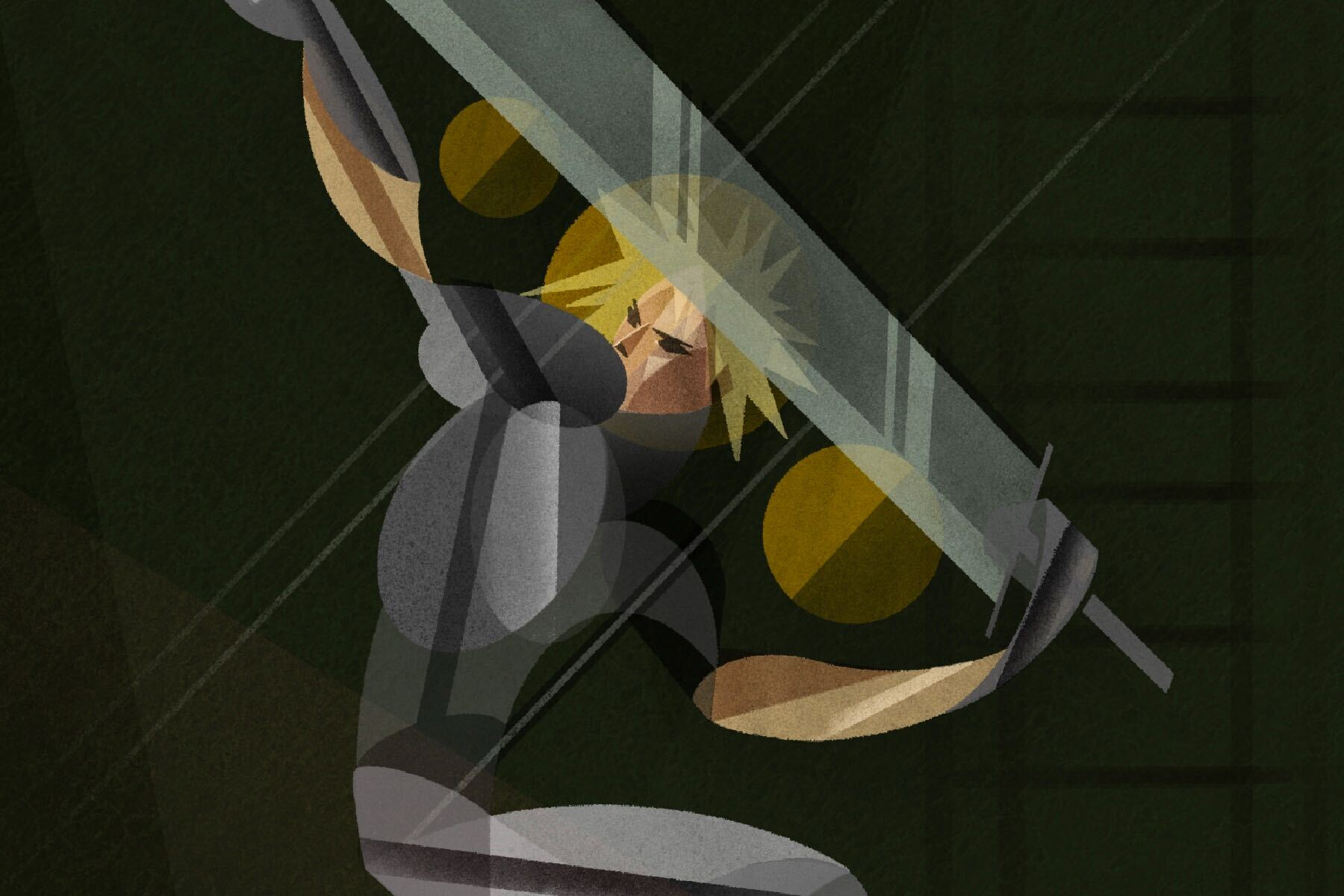 Illustration of Final Fantasy VII