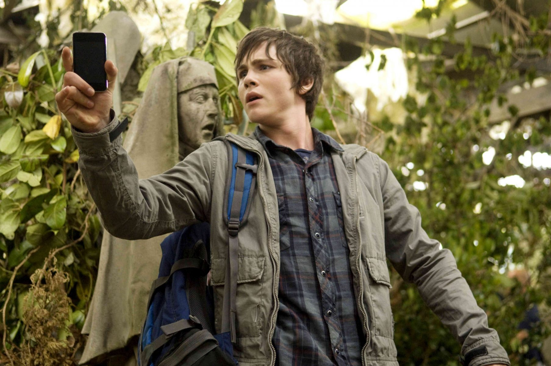 Screenshot from Percy Jackson film in an article about bad film adaptations