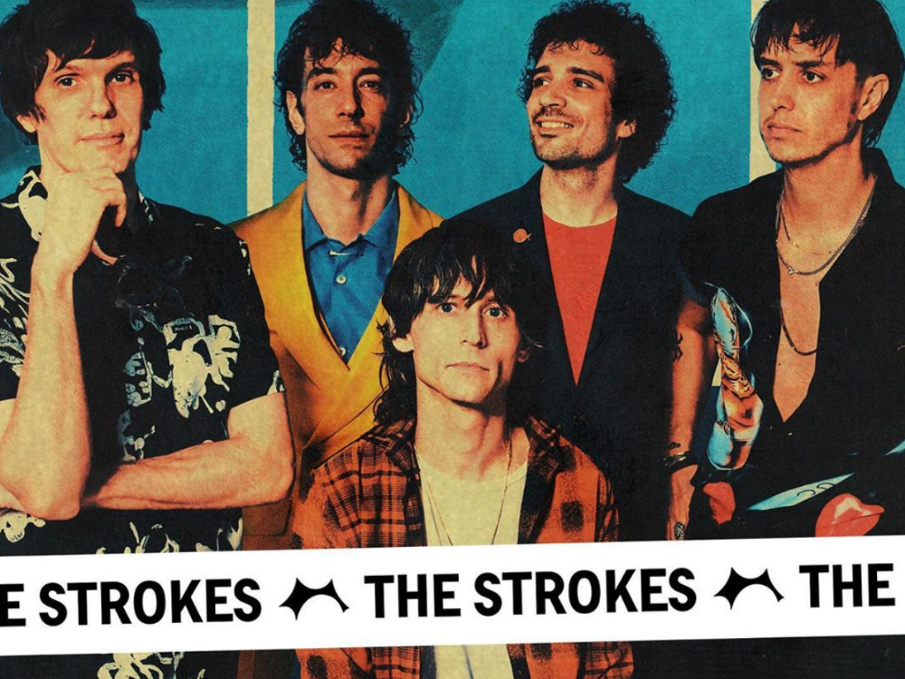 The Strokes (above) have officially made a comeback and while some fans may not be happy about their sound, the author reminds us that if it's not broke, don't fix it.