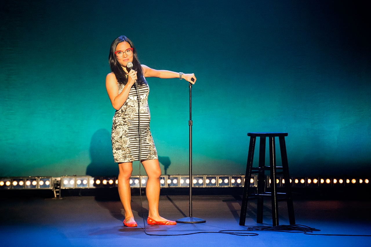 Ali Wong is best known on the stage of her Netflix comedy specials.