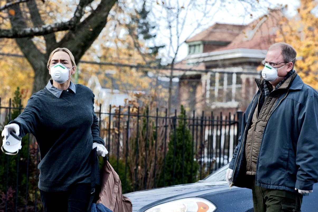 "Screenshot from the movie ""Contagion"""