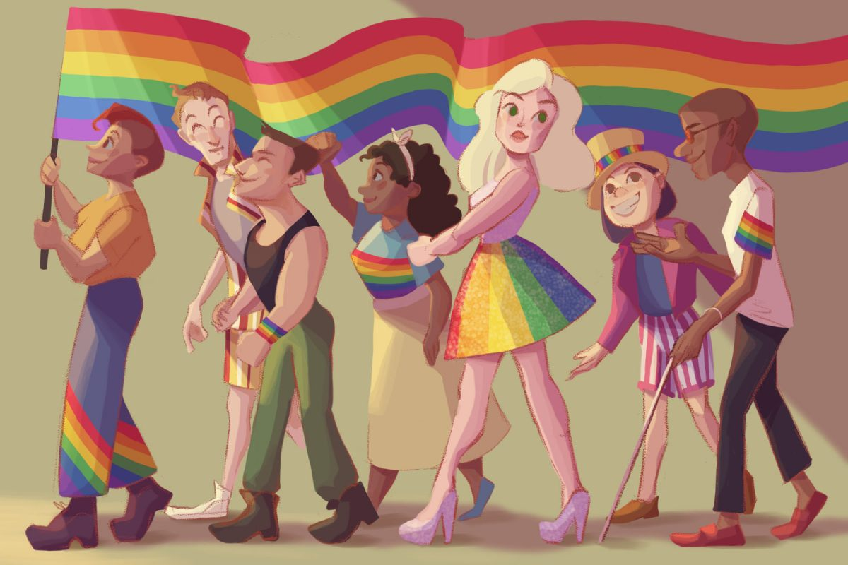 Illustration by Veronica Chen in article about LGBTQ+ brands