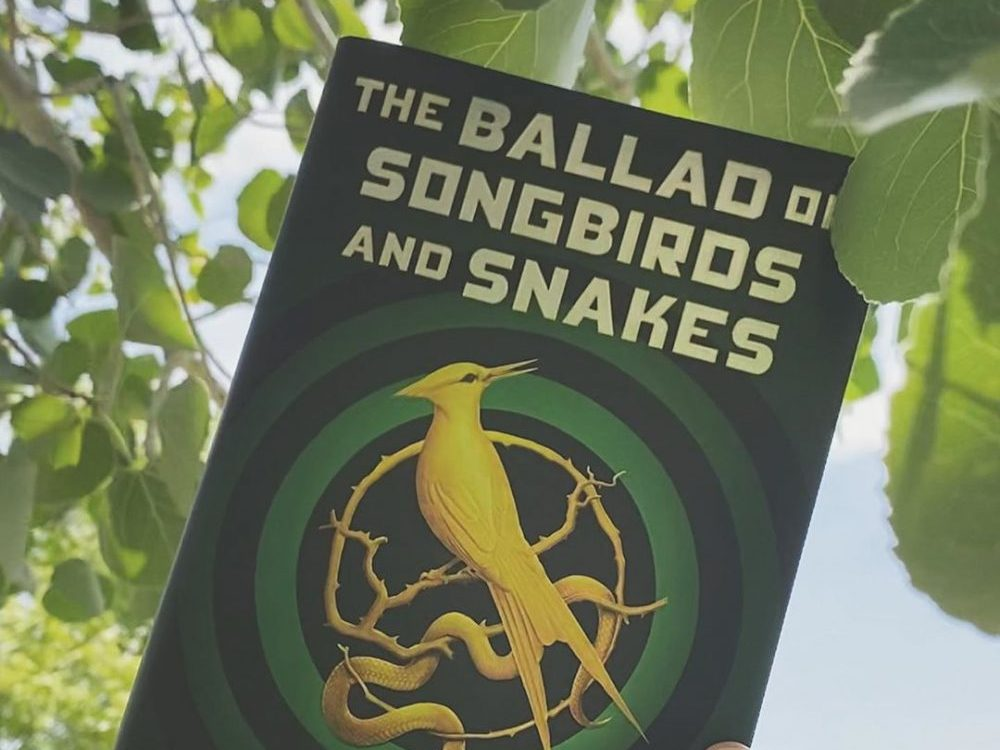 The cover of 'The Ballad of Songbirds and Snakes'