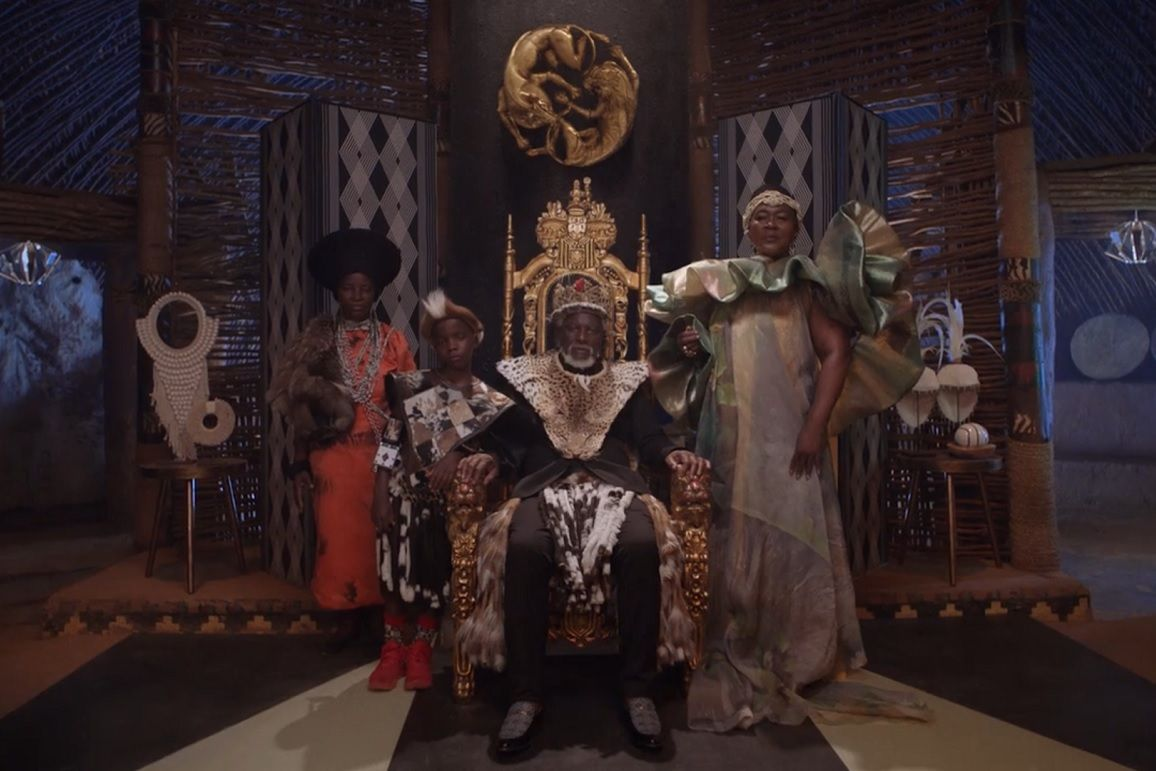 Africans depicted as royal in 'Black Is King.'