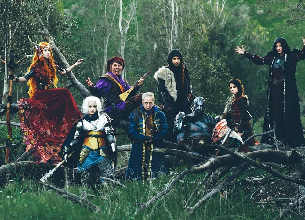The cast of 'Critical Role: The Legends of Vox Machina' cosplaying