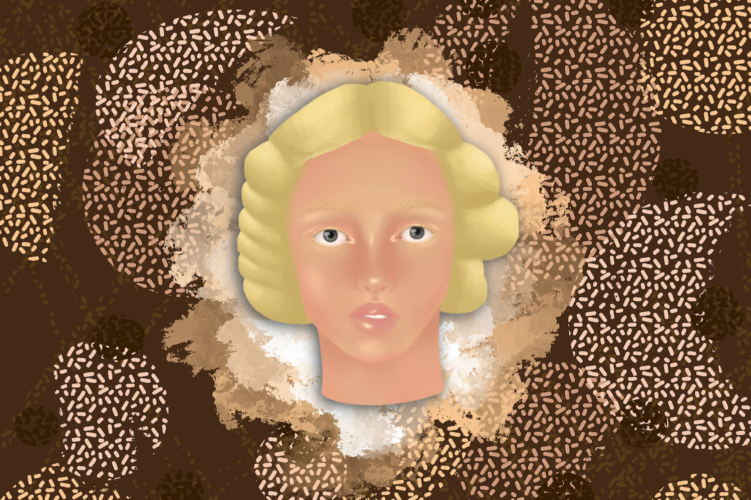 Illustration of a woman with light skin in an article about the skin lightening cream, Fair & Lovely