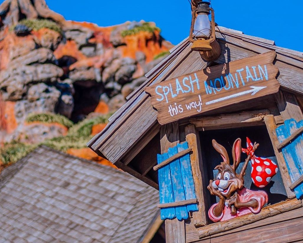 Image from Instagram user carysindisney in an article about Splash Mountain re-theming