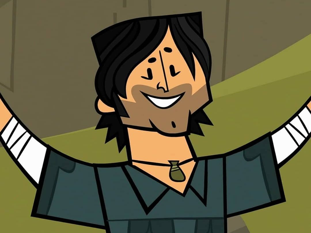 Image from the cartoon Total Drama
