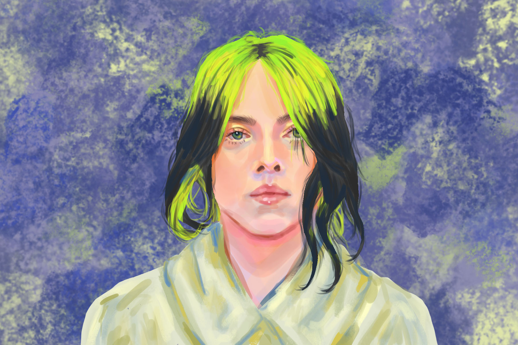 "Billie Eilish drops her new single ""my future"" during the pandemic"