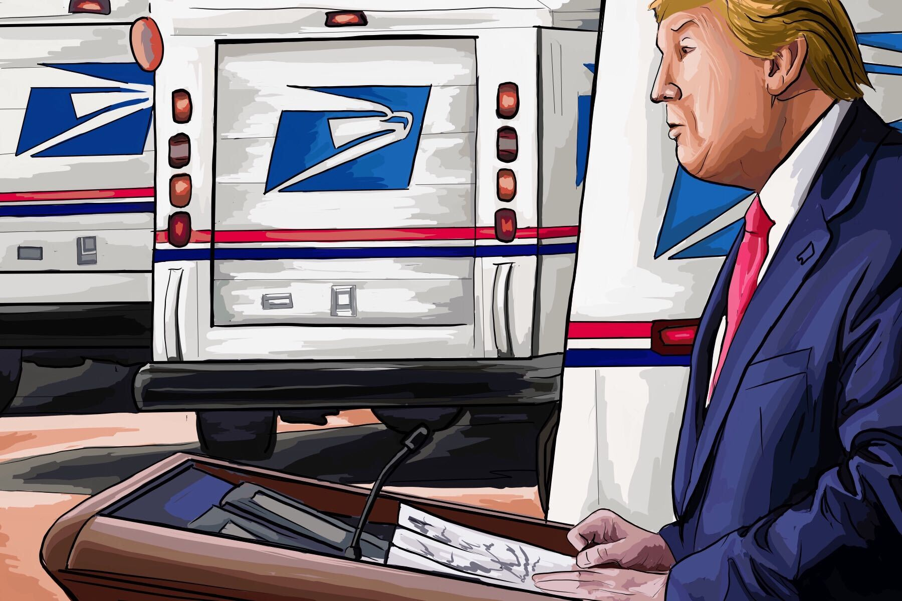 Postal Service and Trump